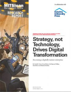 """Strategy, not Technology, Drives Digital Transformation"